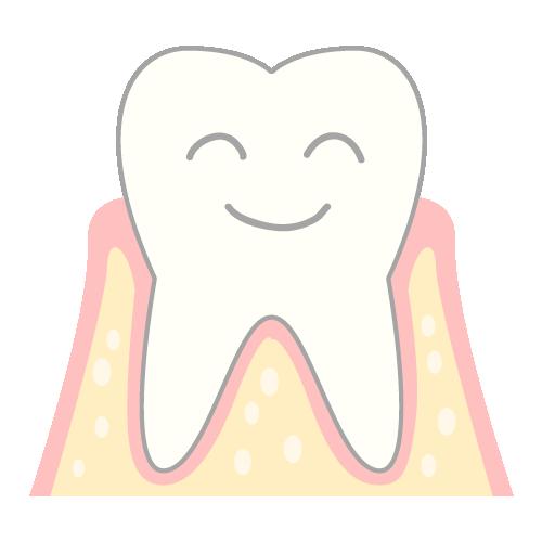 天然できれいの歯