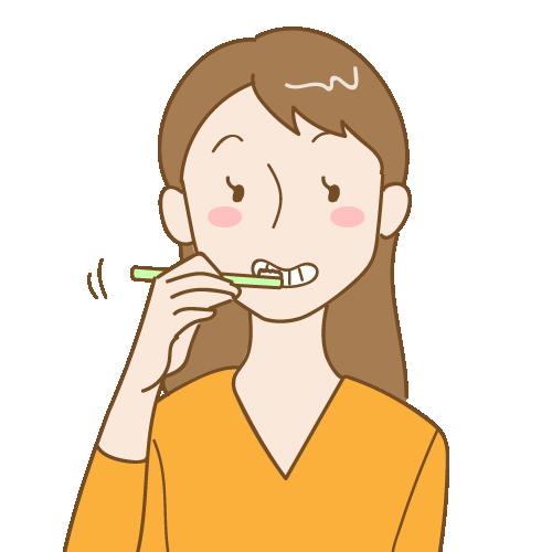 予防歯科のための歯磨き