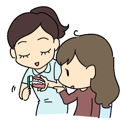 歯周病予防のためのブラッシング指導