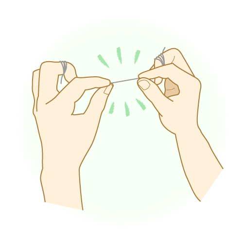 予防歯科のためのフロス